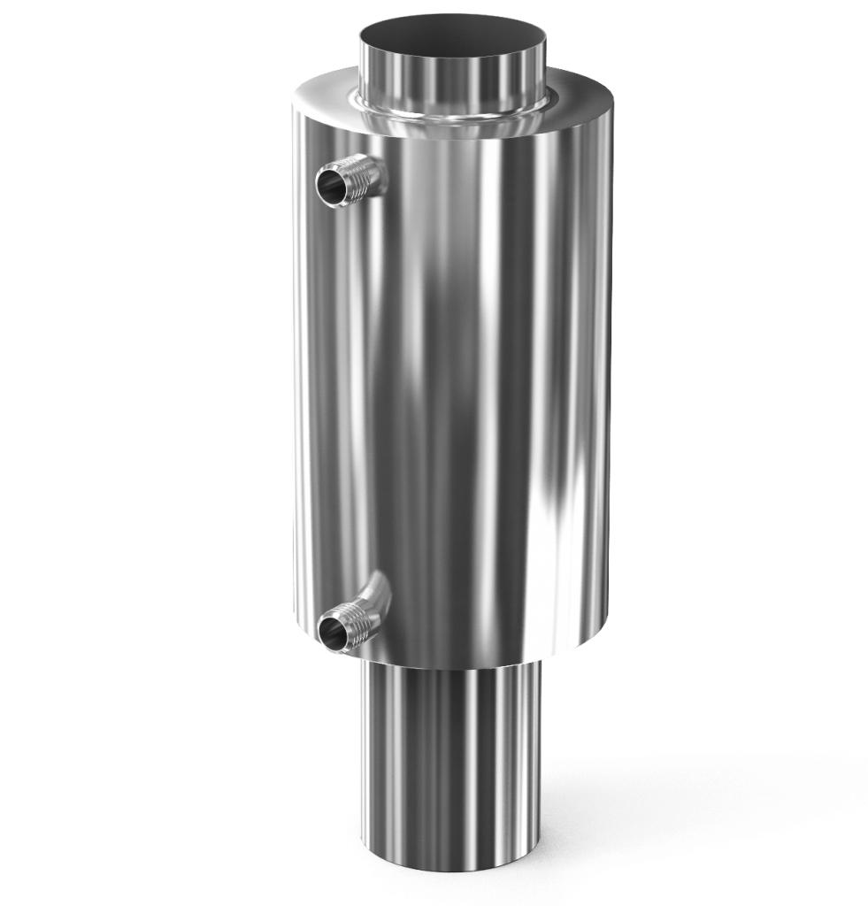Теплообменник для печи на трубу